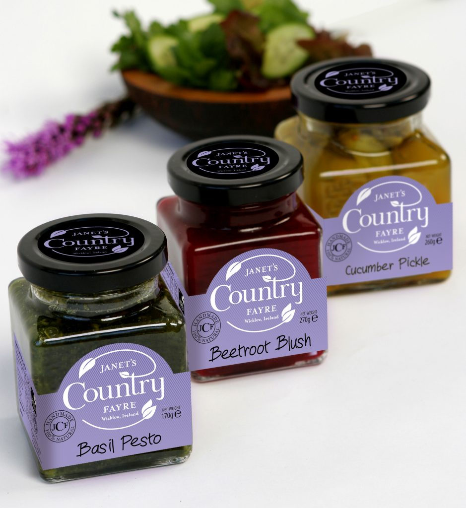Pesto Blush Pickle Chutney and Relishes