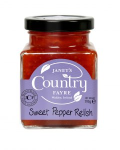 Sweet Pepper Relish - Janets Country Fayre