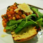 Chickpea & Courgette Bruschetta