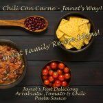 Janet's Chilli Con Carne