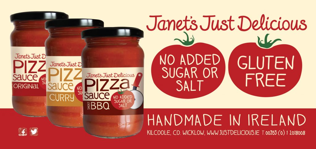 Janets Just Delicious Pizza Sauces