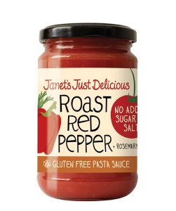 Roast Red Pepper and Rosemary Pasta Sauce - Gluten Free