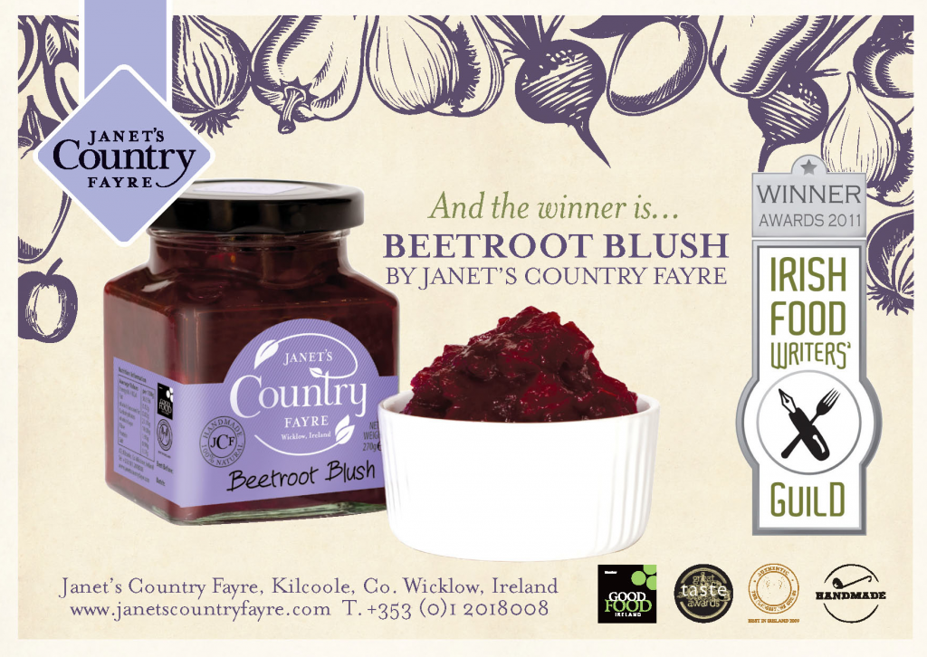 Beetroot Blush Flyer