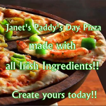 Paddy's Day Pizza