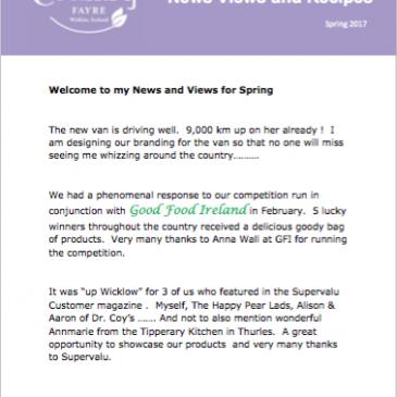 Newsletter Spring 2017