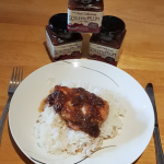 Jill's Quick & Easy Chicken with Scrummy Plum Chutney